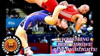 Wrestling Best throws Best highlights   YouTube 360p