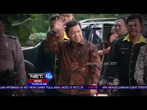 Tidak Ada Di Rumah, Setya Novanto Kemana Yah - NET10