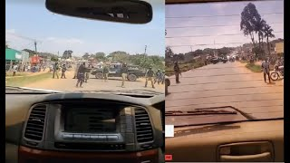 Police blocked Bobi Wine from Going at Home after failure to access Radio station in Mbale