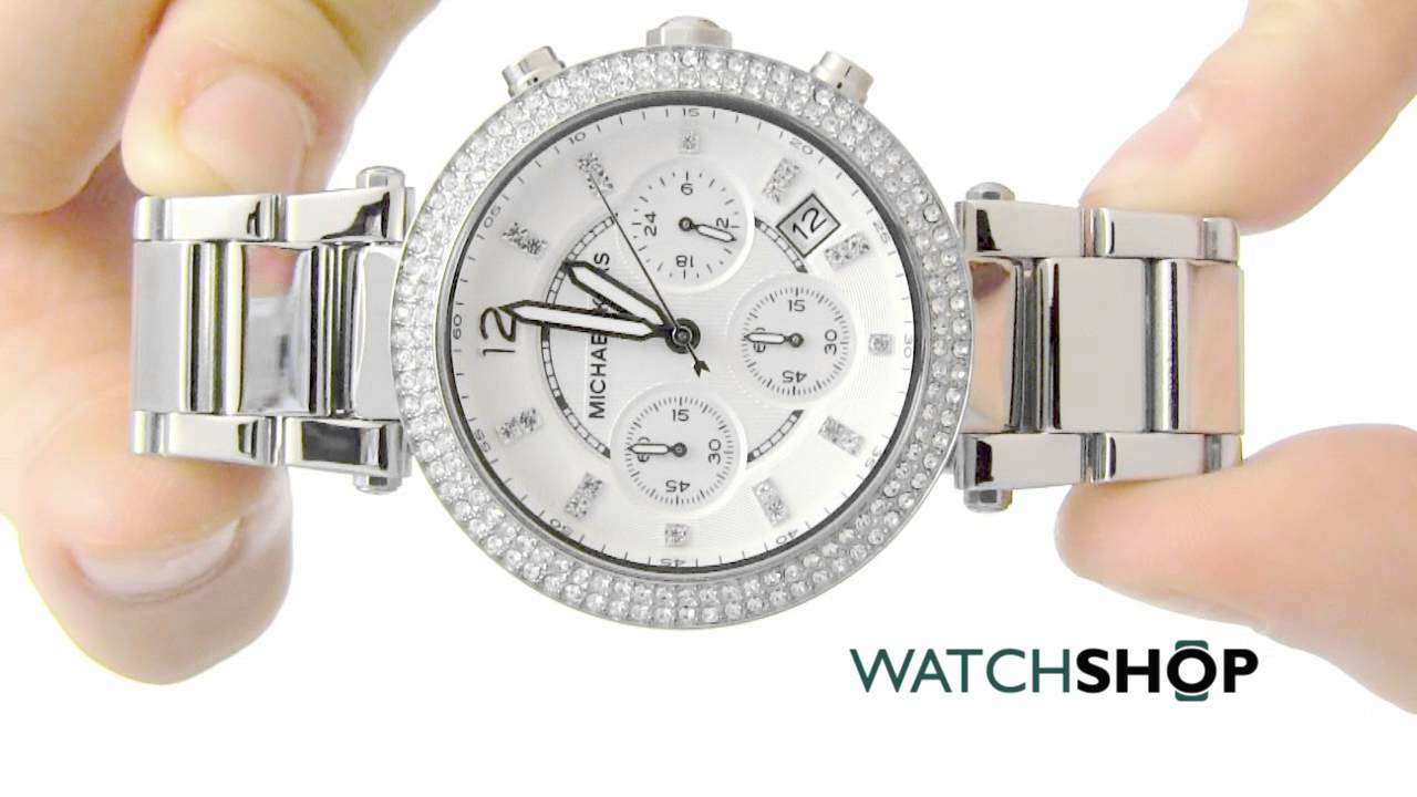 Michael Kors Ladies Parker Chronograph Watch Mk5353 Youtube