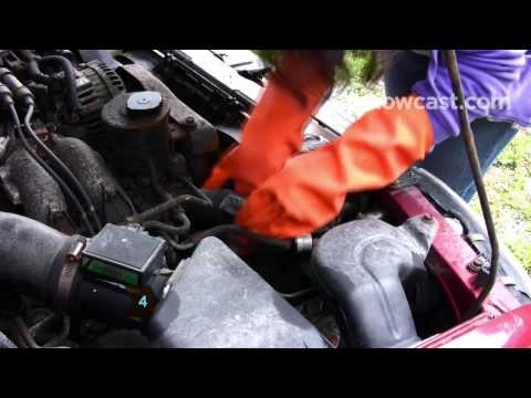 How to Patch a Radiator Hose