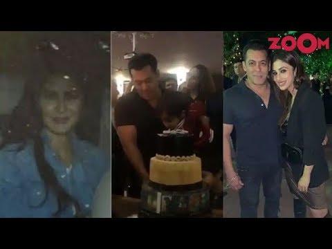 Salman Khan celebrates his 53rd Birthday with friends & family