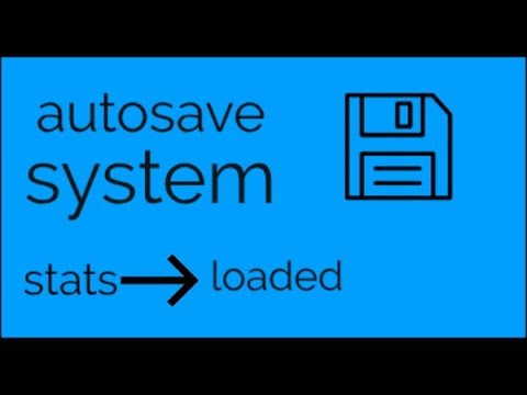 Roblox Studio scripting tutorial how to make autosave system