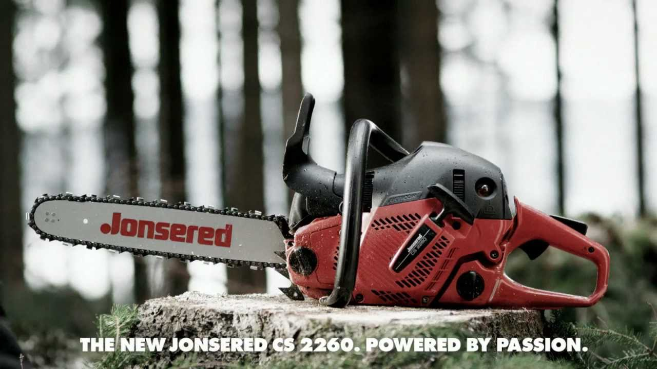 jonsered chainsaw cs 2260 youtube