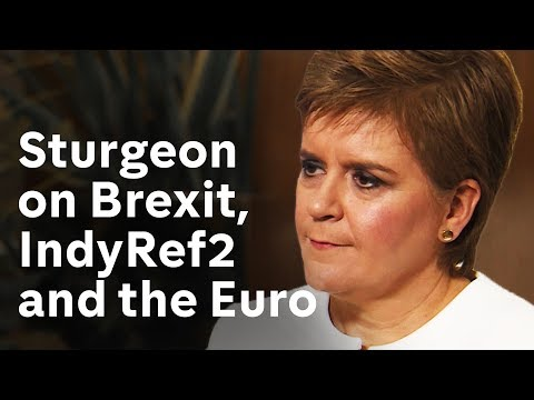 Nicola Sturgeon interview on Brexit, Scottish Independence and the Euro