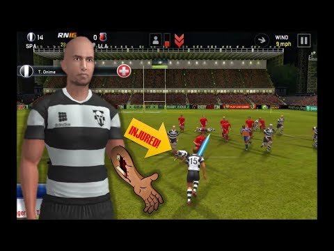 Rugby Nations 16 #6 –  I GOT TRUCKED!