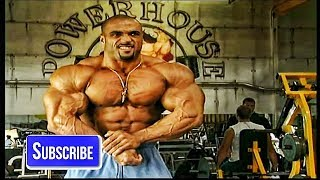 Dennis James - Chest Workout For 2000 Mr.Olympia