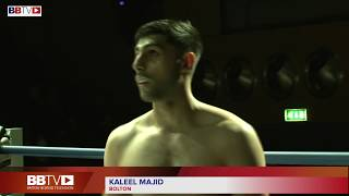 KHALEEL MAJID VS IVAN GODOR - BBTV - BLACK FLASH PROMOTIONS MANCHESTER