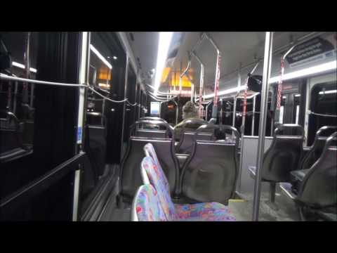 SMART 2016 Gillig LF BRT diesel #3642 on-board recording