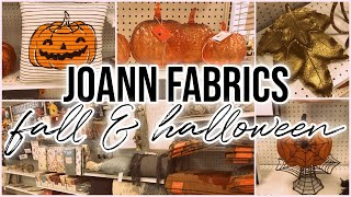 Part 2: JoAnn Fabrics Fall & Halloween Decor 2021! NEW stuff!