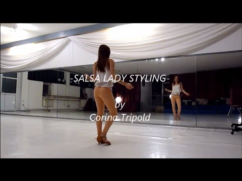 Salsa Lady Styling 1 - Simple Moves - by Corina Tripold - www.SalsaSpirit.at