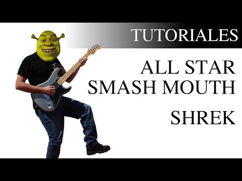 Cómo tocar All Star de Smash Mouth en la Guitarra Canción de Shrek fácil
