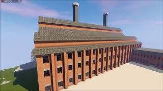 MINECRAFT - Trailer fin série construction d'une base
