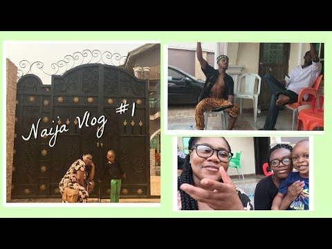 NIGERIA VLOG #1: AFRICAN HAIR BRAIDERS RUIN OUR HAIR, ASABA MALL & FOREST FIRES