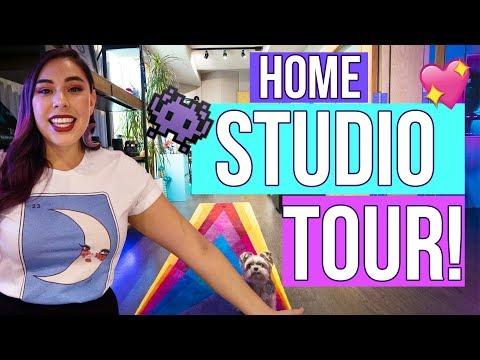 HOME STUDIO TOUR! - iHasCupquake