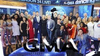 DWTS 24 Cast Announced on GMA (03/01/17) - Full version