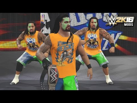 WWE 2K16 Mods - Roman Reigns Joins the Usos