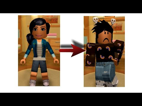 My ROBLOX Avatar Evolution :P