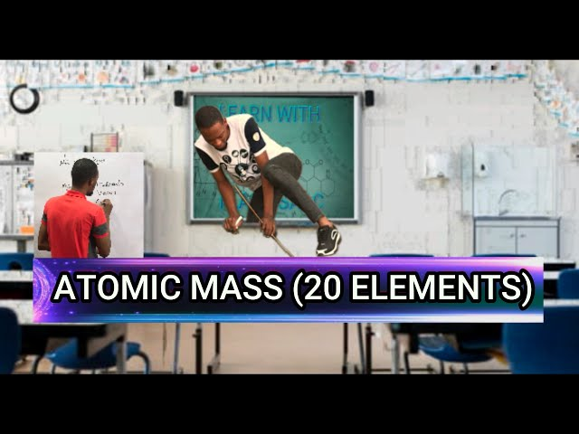 Atomic Mass Of The First 20 Elements