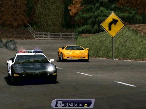 Need For Speed III: Hot Pursuit Gameplay (PC)