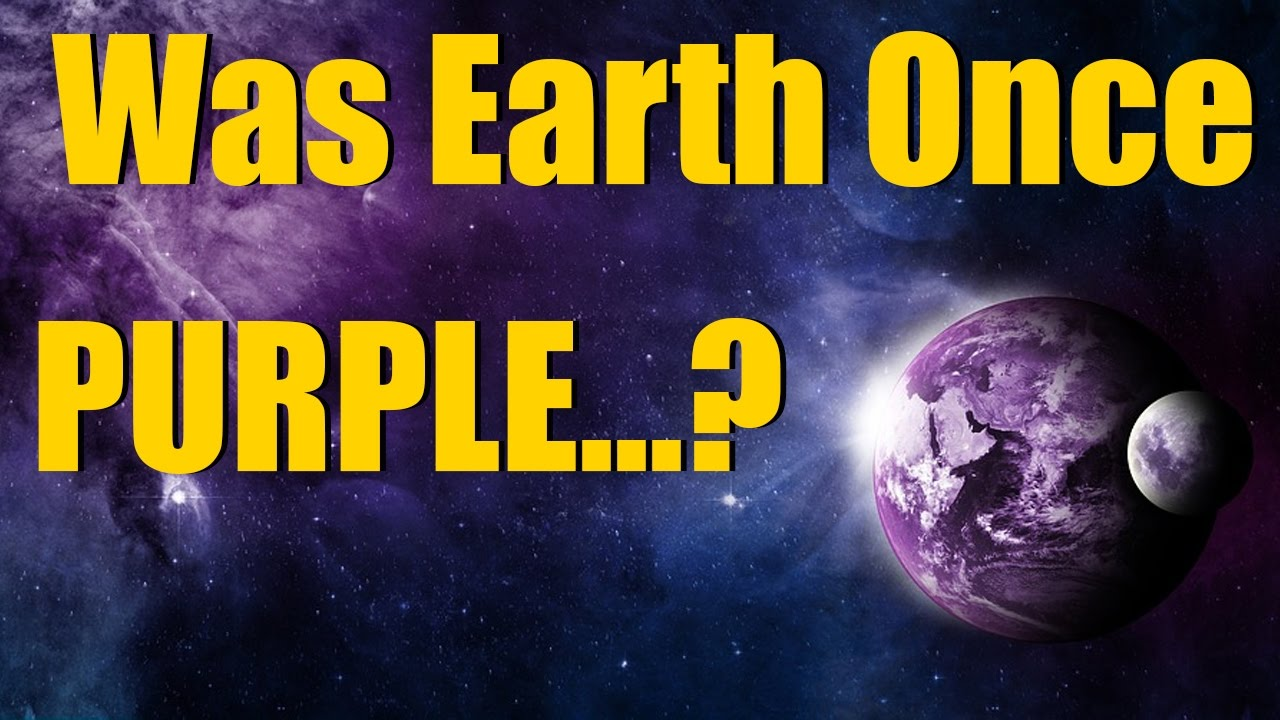 was earth once purple? purple earth hypothesis in universe sandbox²