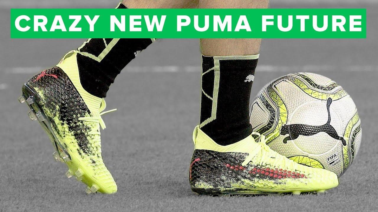 Puma Future 18.1 Yellow Play Test