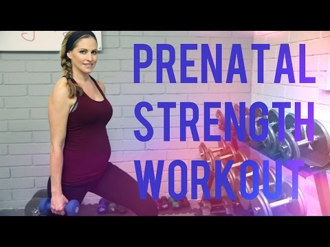 30 Minute Prenatal Strength Workout