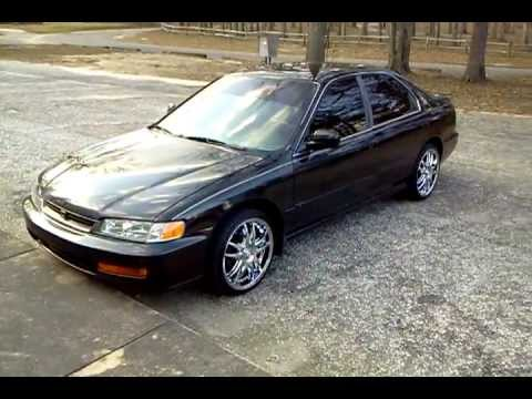 1996 Honda Accord LX F22B SOHC