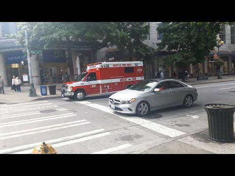 Seattle Fire Department Aid 10 Responding