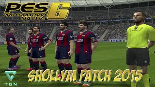 PES 6 | Shollym Patch 2015 | Final Champions League