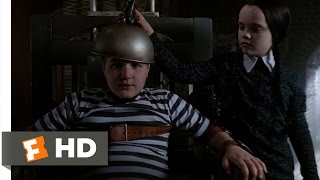 The Addams Family (2/10) Movie CLIP - The Hot Seat (1991) HD