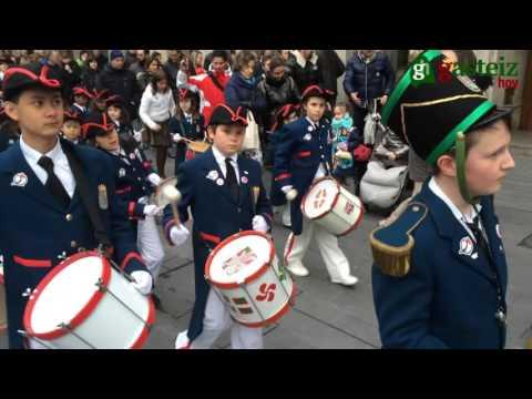 Tamborrada Infantil de San Prudencio Vitoria-Gasteiz 2016