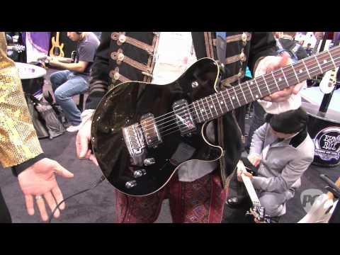 NAMM '11 - Ernie Ball Music Man Game Changer Demo