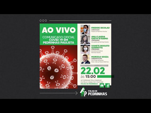 AO VIVO | PRONUNCIAMENTO OFICIAL COVID-19