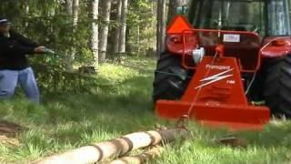 Wciągarka leśna FRANSGARD V 4000
