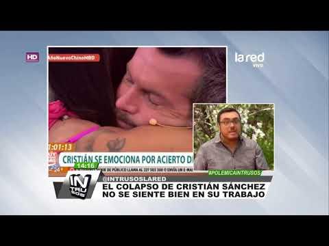 El colapso de Cristi�n S�nchez que lo hizo estallar en l�grimas