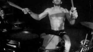 Adam Gray - Texas In July - Cry Wolf (Drum View) Live Quebec City, 05/05/13
