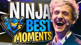 Fortnite Ninja BEST Moments - Ninja Funny Moments