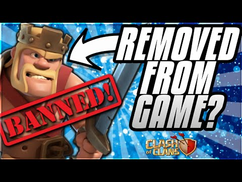 BARBARIAN KING ABILITY REMOVED? MARCH UPDATE 2018 BALANCING CLASH OF CLANS•FUTURE T18