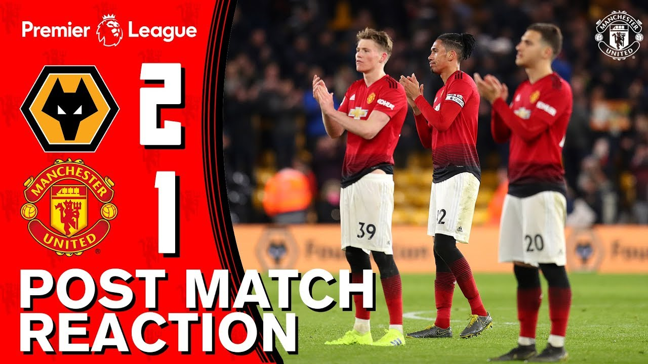 Wolves Vs Man Utd Wikipedia: Solskjaer And McTominay Upbeat Despite Defeat