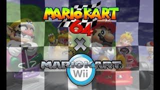 Mario Kart Wii - ALL (N64) Mario Kart 64 Custom Tracks