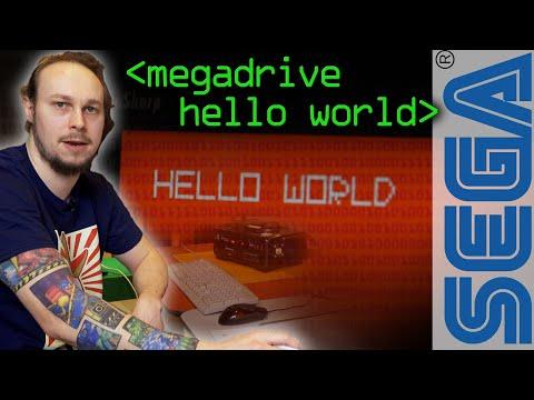 Sega Megadrive Hello World - Computerphile