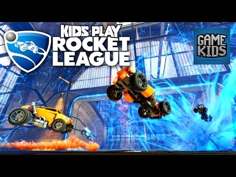 Rocket League Gameplay - Kids Play