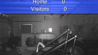 Farm Garage Cam winter 2010 - 2011 Paranormal activity