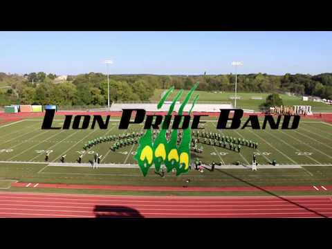 MSSU Lion Pride Band at Pride of the Ozarks 2018