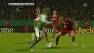 Werder Bremen vs Kaiserslautern 3 - 0 28. 10. 2009