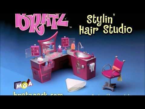 Bratz Stylin' Hair Studio Commercial! (2003)