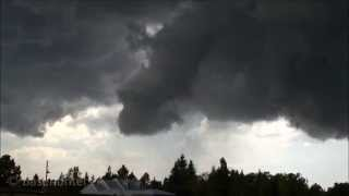 7/26/13  Cheyenne, WY  Funnel Cloud and Hail