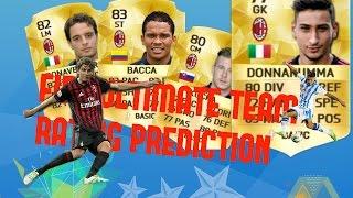FIFA 17/ RATING PREDICTION AC MILAN