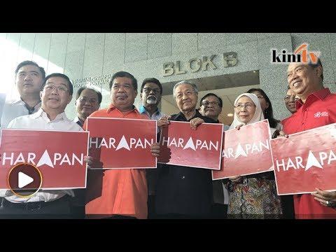 ROS nasihat betulkan logo HARAPAN - Tun M